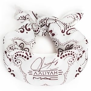 New Mac Aaliyah bandana